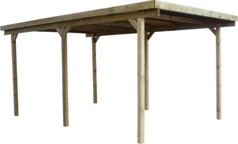 Wiaty Drewniane Samochodowe Wood Play