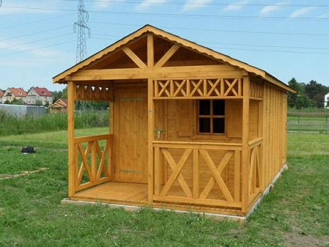 Drewniane Domki Ogrodowe Na Działkę Producent Wood Play